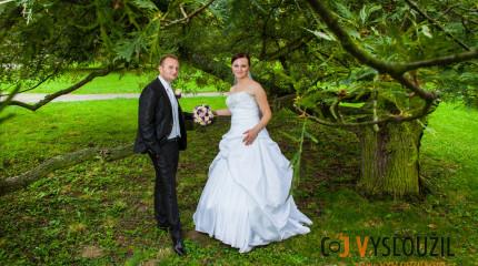 Svatební fotky Šárky a Vojtěcha, Náměšť na Hané