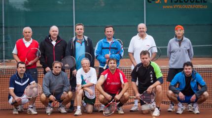 Foto z tenisového turnaje, Grygov