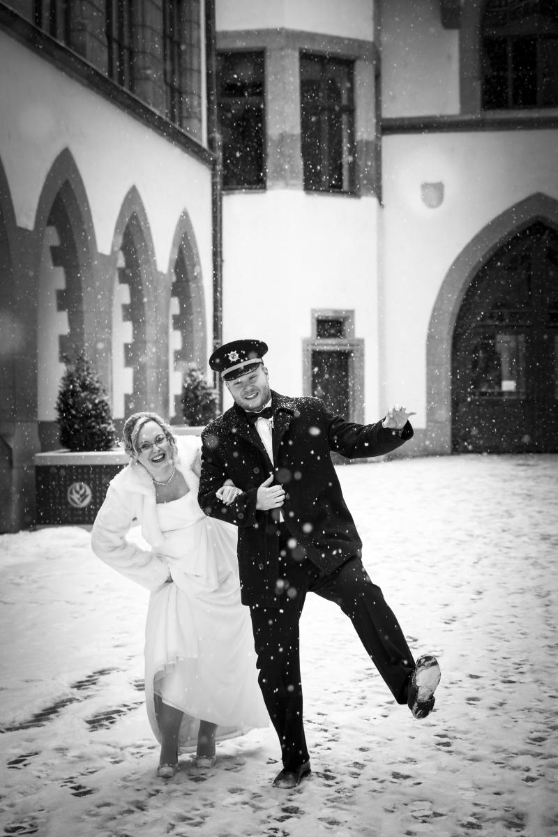 zimni svatebni foto Olomouc