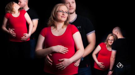 Ivo a Hanka – těhotenské foto