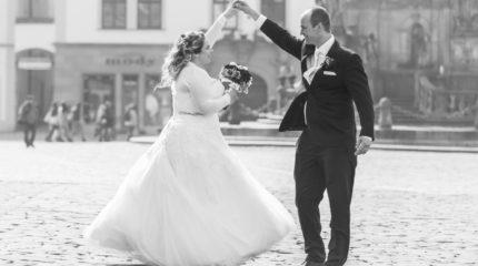 Robert a Adéla – jarní svatba v Olomouci