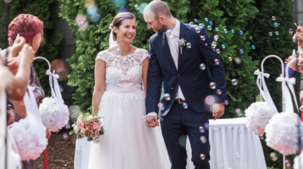 Katka a Martin – svatba v Dolanech