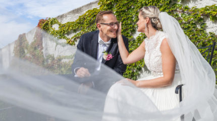Novomanželé Zuzka a Dan – Šmeralova vila